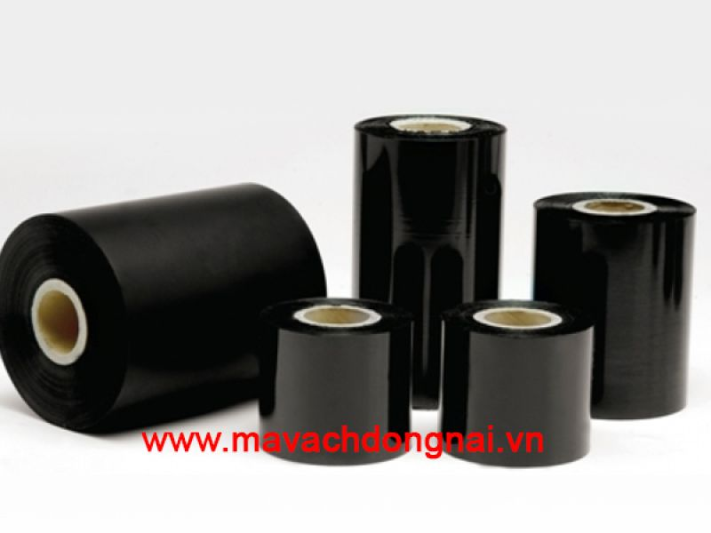 Ribbon mực in mã vạch wax premium 60mm x 300m